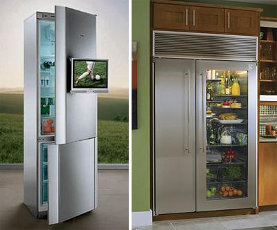Холодильник с прозрачной дверью