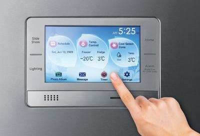 Холодильник с микрокомпьютером