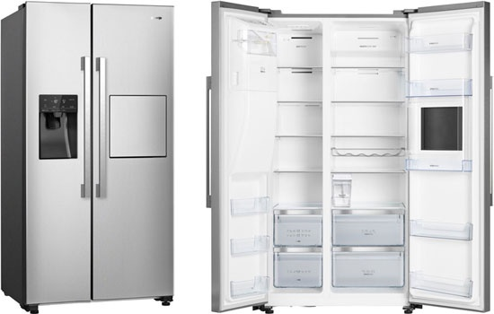 Холодильник Side by Side Gorenje NRS 9181 VXB