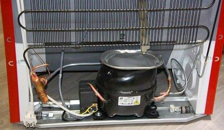 Как работает компрессорный холодильник?