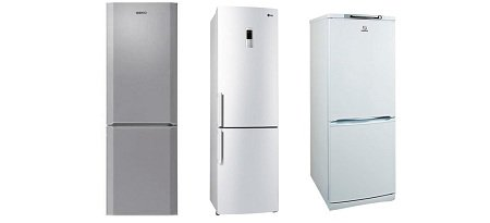 ТОП-5 двухкамерных холодильников с нижней морозильной камерой 2016