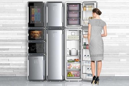 Холодильник Addition может быть увеличен или уменьшен по потребностям пользователя