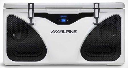 Alpine Ice In-Cooler: холодильник и акустическая система в одном