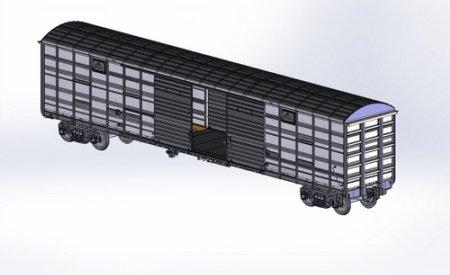 Автономный рефрижераторный вагон от «Алтайвагон»