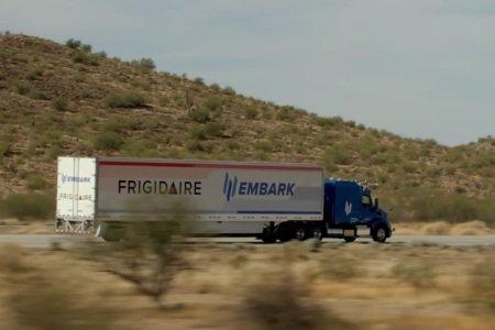 Electrolux транспортирует холодильники с использованием автономных грузовиков