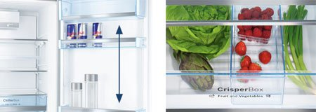 Холодильники Bosch Serie|4: привлекательный дизайн и отличный холод