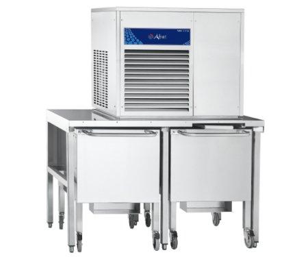 Бункер-накопитель Abat для сбора и хранения льда