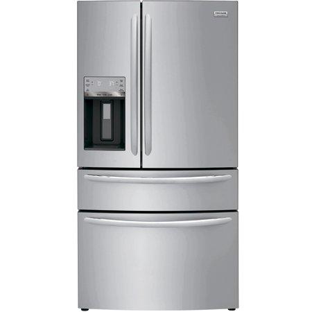 Холодильник Frigidaire: четыре двери и стильный дизайн