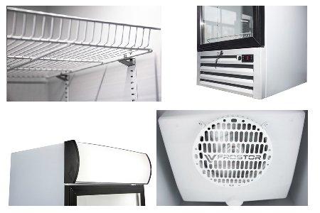 Frostor UV500GL: холодильный шкаф с универсальными возможностями
