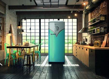 Холодильник и автомобиль: стильная серия Gorenje и Volkswagen