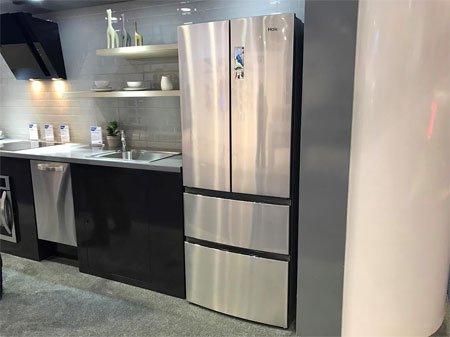 Haier показал на CES 2017 новый 4-дверный холодильник French Door