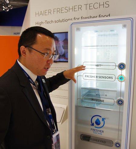 Холодильники Haier на IFA 2016