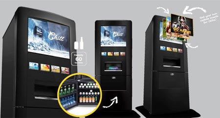 Hisense Chill Vending Machine предложит диспенсер для напитков и холодильную камеру