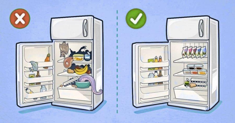 Лайфхаки для холодильника: как сломать бессистемность?