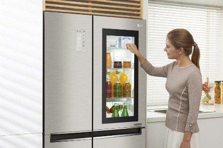 Российские пользователи смогут оценить удобство новых холодильников LG InstaView