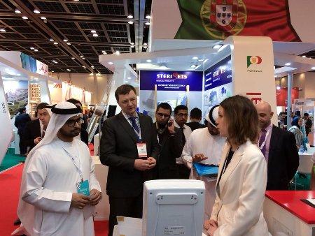 Медицинские холодильники POZIS на выставке Arab Health-2018