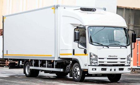 Изотермические фургоны Isuzu NMR от Pelican.van