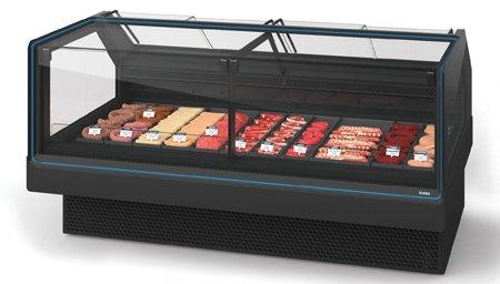 Холодильная витрина kCounter RPF для магазинов нового поколения
