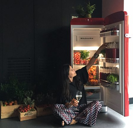 Новый холодильник KitchenAid Iconic