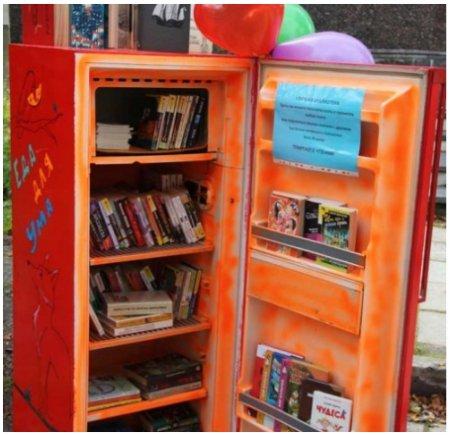 Книжный холодильник появился в Апатитах