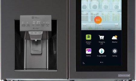 Холодильник LG управляется голосом