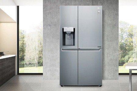 Холодильник Side-by-Side LG P Veyron: красиво, удобно, объёмно