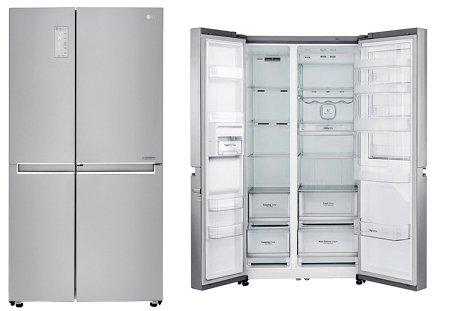 Новый холодильник LG Side-by-Side на российском рынке