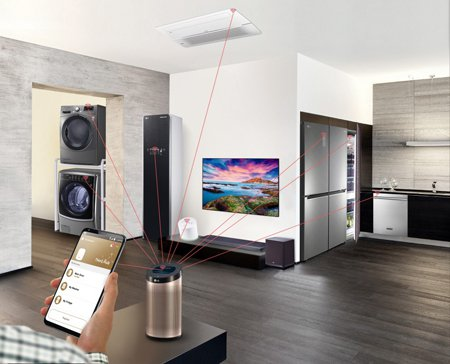 Холодильники и другая «умная» техника LG в новом жилом комплексе