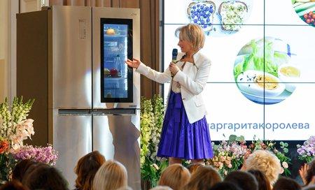 Холодильники LG помогут заботиться о здоровье и фигуре