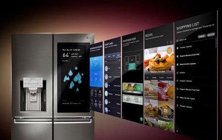 Интеллектуальная кухонная техника LG на выставке CES 2018