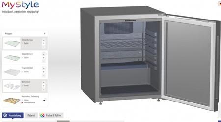 LIEBHERR предлагает собрать холодильник по индивидуальному запросу