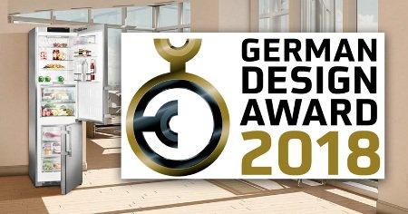 LIEBHERR стал обладателем German Design Award 2018