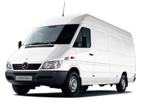 Mercedes-Benz Sprinter Classic 413 CDI может перевозить замороженные продукты