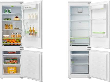 Новый встраиваемый двухкамерный холодильник Midea