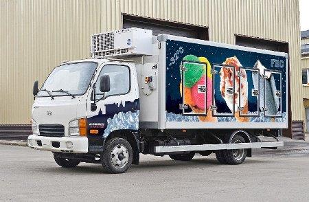 «Мосдизайнмаш» представляет новый холодильный фургон