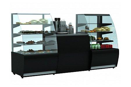 Новые кондитерские витрины производства завода «Полюс»