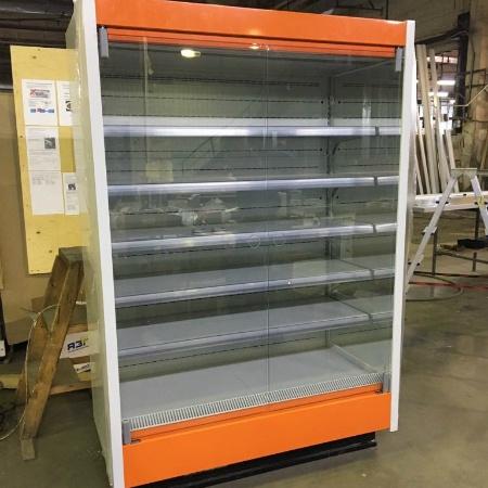 Новая холодильная горка в ассортименте Марихолодмаш