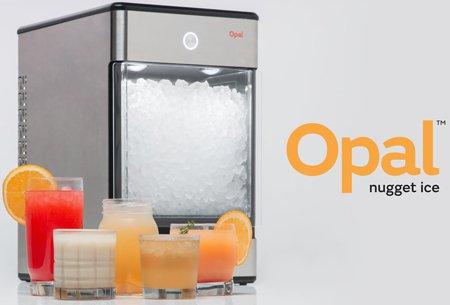 Льдогенератор Opal Nugget позволит приготовить мягкий лёд дома