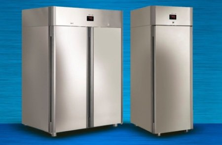 Холодильные шкафы POLAIR в обновлённом дизайне