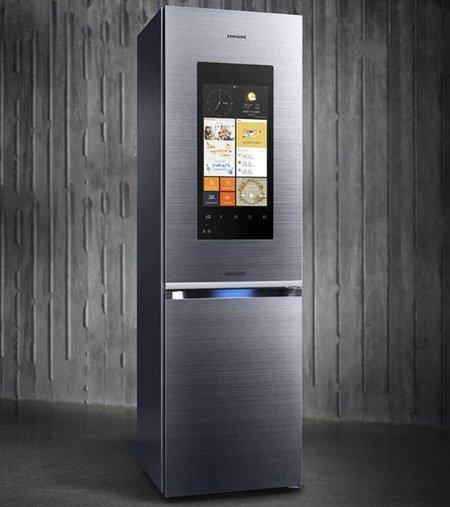 Двухкамерные холодильники Samsung Family Hub для европейских домов