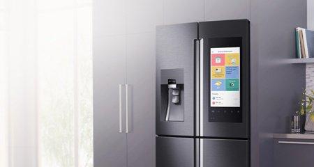 Поговорите с холодильником Samsung