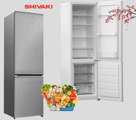 Холодильники Shivaki не требуют размораживания камер