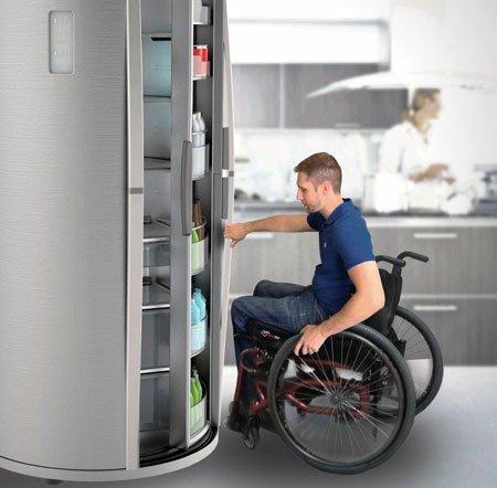 Sliding Fridge – холодильник для людей с ограниченными физическими возможностями