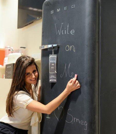 Холодильники Smeg на выставке Ambiente