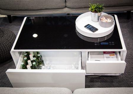 Sobro: журнальный столик-холодильник