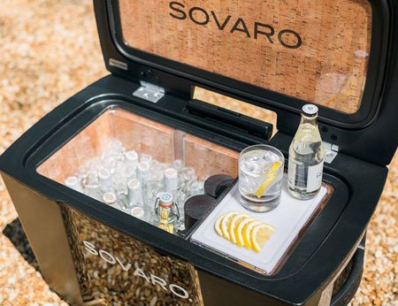Sovaro: мобильный холодильник класса Люкс