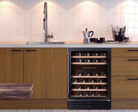 Temptech AS: винный холодильник можно установить в любой кухне!