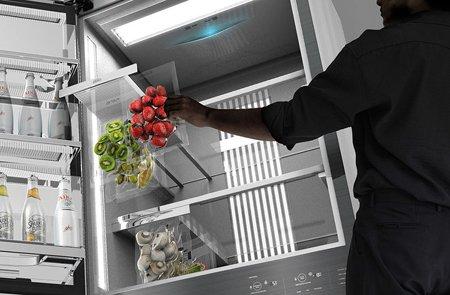 Холодильник Zero упакует продукты в вакууме