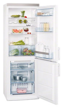 двухкамерный холодильник AEG S 73200 CNW1