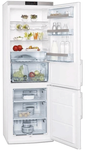 двухкамерный холодильник AEG S73600CSM0